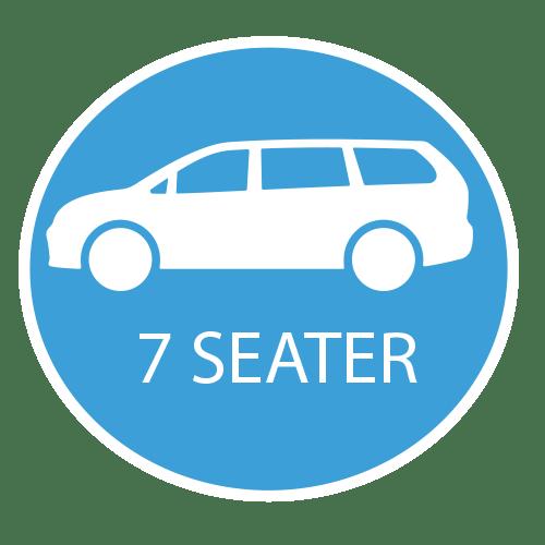 7 Seater Heathrow Car Hire